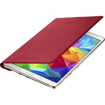 Samsung flipové pouzdro EF-DT700BR pro Galaxy Tab S 8.4, červená