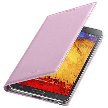 Samsung flipové pouzdro s kapsou EF-WN900BI pro Galaxy Note 3, růžová