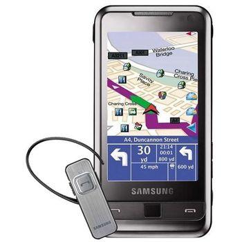 Samsung i900 Omnia + navigace + ZDARMA BT headset - předváděcí