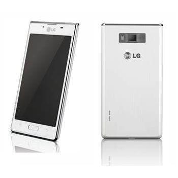 LG P700 Optimus L7, bílá