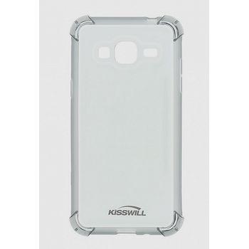Kisswill Shock TPU pouzdro pro Samsung J320 Galaxy J3 2016, šedá