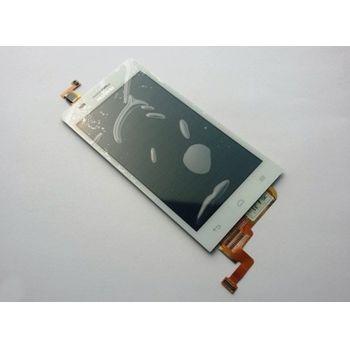 Náhradní díl Huawei Ascend G8 LCD display + dotyková deska bílá
