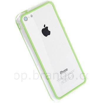 Brando ultra slim bumper pro iPhone 5C, zelená