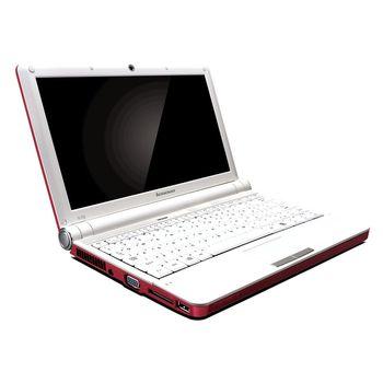 "Lenovo S10e, iAtom N270/1.6GHz, 10.1"" WSVGA LED lesk, 1GB, 160GB 5400rpm - červený"
