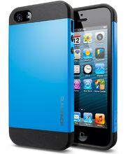 Spigen pevné pouzdro Slim Armor pro iPhone 5/5S, modré