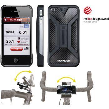 Topeak RideCase II obal a držák na iPhone 4/4S