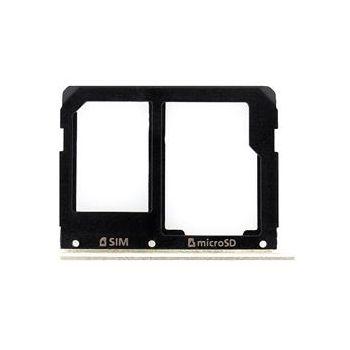 Náhradní díl na Samsung A510/A310 Galaxy A5/A3 2016 SIM/microSD držák černý