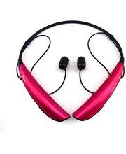 LG Bluetooth Stereo Headset HBS-750 Tone Pro, růžový