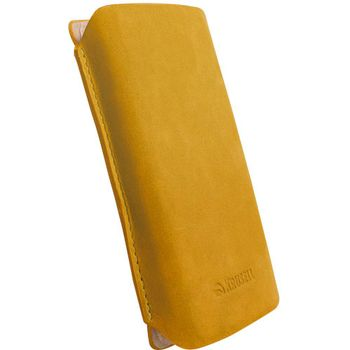 Krusell pouzdro Tingstad Pouch XXL - Sony Ericsson Xperia Arc/Arc S   125x65x10 mm  (žlutohnědá)