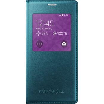 Samsung flipové pouzdro S-View EF-CG800BG pro Galaxy S5 mini, zelené