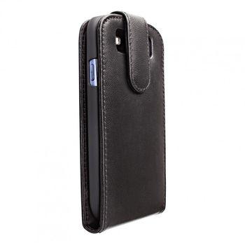 Artwizz kožené FLIP pouzdro pro Samsung Galaxy S III - černá