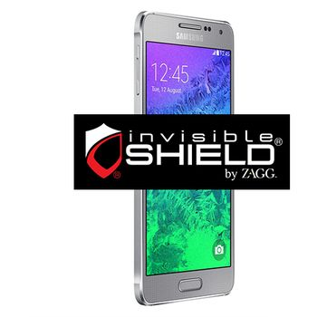 invisibleSHIELD HD pro Samsung Galaxy Alpha - display