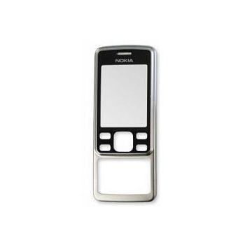 Náhradní díl přední kryt pro Nokia 6300, stříbrný
