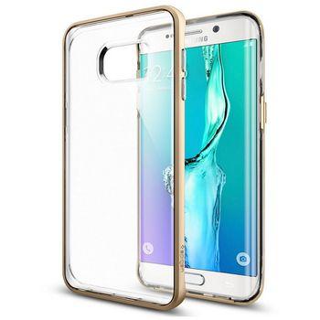 Spigen pouzdro Neo Hybrid Crystal pro Samsung GALAXY S6 edge+, zlaté