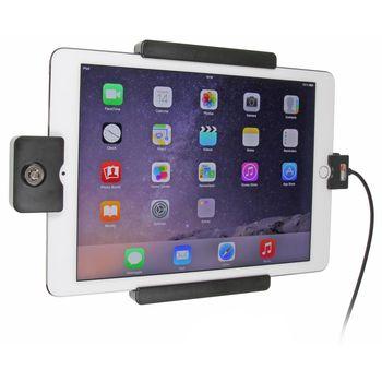 Brodit držák do auta na Apple iPad Pro 9.7 bez pouzdra, se skrytým nabíjením, se zámkem