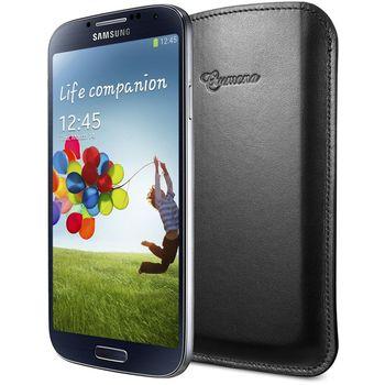 SPIGEN SGP kožené pouch Crumena černé for Galaxy S4