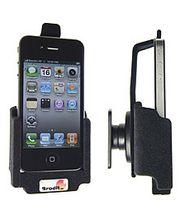 Brodit držák - Apple iPhone 4/4S - průch.kon., pojistka, povrch samet