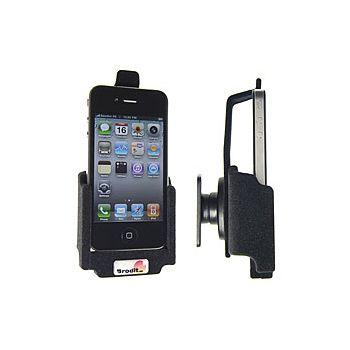 Brodit držák - Apple iPhone 4 - průch.kon., pojistka, povrch samet - bazar