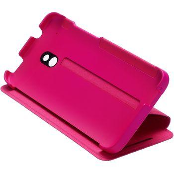 HTC flipové pouzdro se stojánkem Double Dip Flip HC V851 pro HTC One mini, růžové
