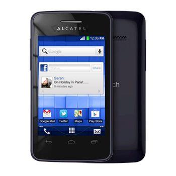 ALCATEL ONE TOUCH 4010D T'POP Dual SIM, černá