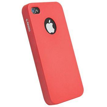 Krusell hard case - ColorCover - Apple iPhone 4/iPhone 4S (červená)