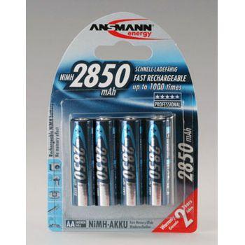 Ansmann akumulátory 4ks AA 2850mAh NiMH