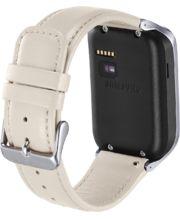 Samsung výměnný pásek ET-SR380LW pro Gear 2/Gear 2 Neo, kožený, bílý