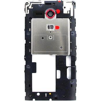 Náhradní díl střední díl těla pro Sony C5303 Xperia SP, červená