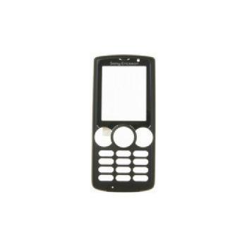 Náhradní díl přední kryt pro Sony Ericsson W810i, černá