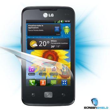 Fólie ScreenShield LG Optimus HUB E510 - displej