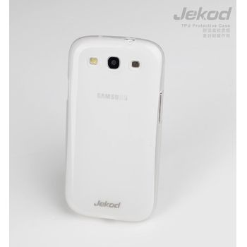 Jekod TPU + Protect kryt Galaxy S3, bílá