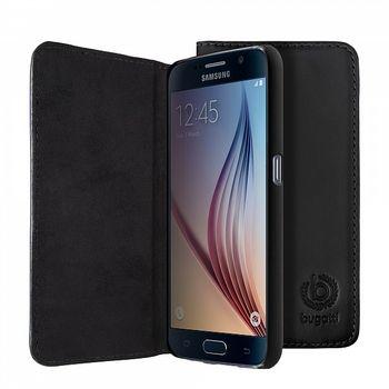 Bugatti flipové pouzdro BookCover Oslo pro Samsung Galaxy S6, černá