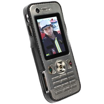 Krusell pouzdro Classic - Sony Ericsson W890i