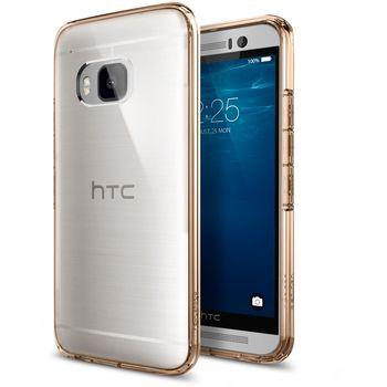Spigen tenký kryt Ultra Hybrid pro HTC One M9, zlatá