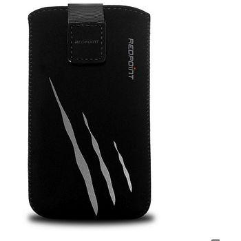 Redpoint pouzdro Velvet s motivem Gray Scratch, velikost XL, černá
