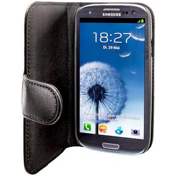 Artwizz Seejacket pouzdro kožené pro Samsung Galaxy S III (GT-i9300) - černé