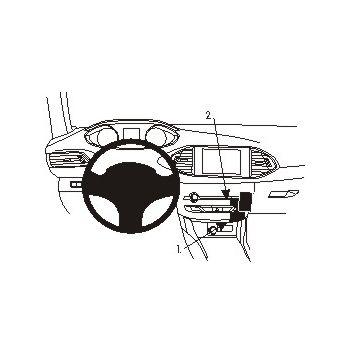 Brodit ProClip montážní konzole pro Peugeot 308 14-16 (pouze pro aut. klimatizaci), rozbaleno