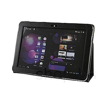 Pouzdro koženkové Brando se stojánkem - Samsung Galaxy Tab 10.1/Tab 2 10.1 (černá)