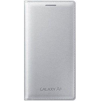 Samsung flipové pouzdro EF-FA300BS pro Galaxy A3, stříbrné