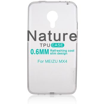 Nillkin pouzdro Nature TPU pro Meizu MX4, šedé