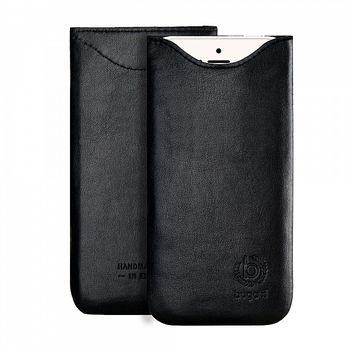 Bugatti SlimFit leather case pro Apple iPhone 6 Plus/7 Plus černá