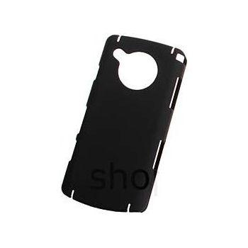 Zadní kryt pogumovaný Brando - Samsung i8910 HD (černá)