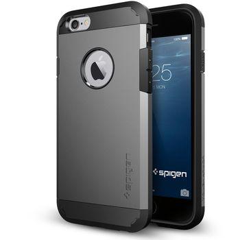 Spigen pouzdro Tough Armor pro iPhone 6S Plus, kovově šedé