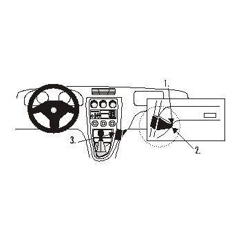 Brodit ProClip montážní konzole pro Alfa Romeo 156 98-01, na střed