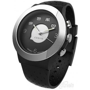 COGITOwatch Fit 3.1. bluetooth hodinky, stříbrno černé
