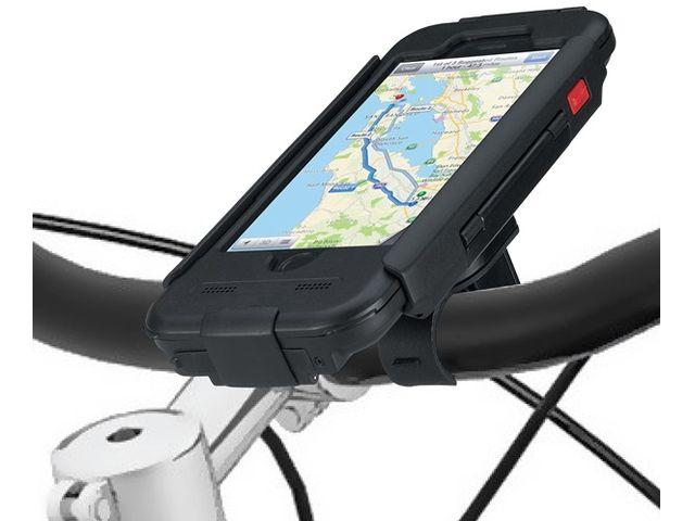 obsah balení Držák BikeConsole pro iPhone 6 na kolo nebo motorku na řídítka pro uchycení telefonu + stylus SJ3 černý