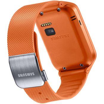 Samsung výměnný pásek ET-SR380BO pro Gear 2 / Gear 2 Neo, oranžový