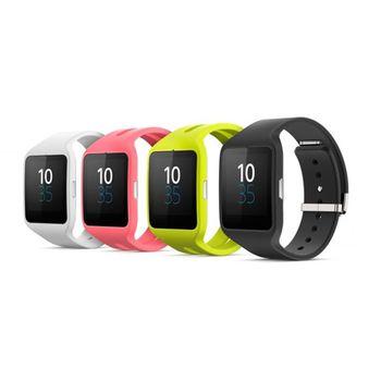 Sony náhradní řemínek pro Smartwatch3 SWR50, bílá