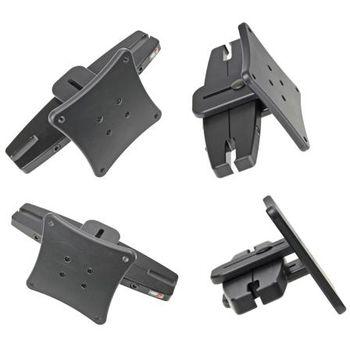 Brodit montážní konzole na opěrku hlavy pro standart VESA 75x75mm, rozteč 123 - 183 mm