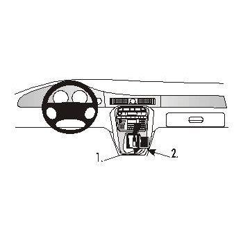 Brodit ProClip montážní konzole pro Jaguar XJR 98-03, na středový tunel